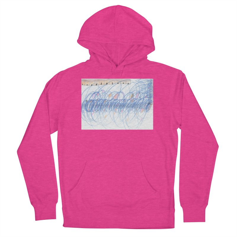 Electromagnetic Field Women's French Terry Pullover Hoody by nagybarnabas's Artist Shop