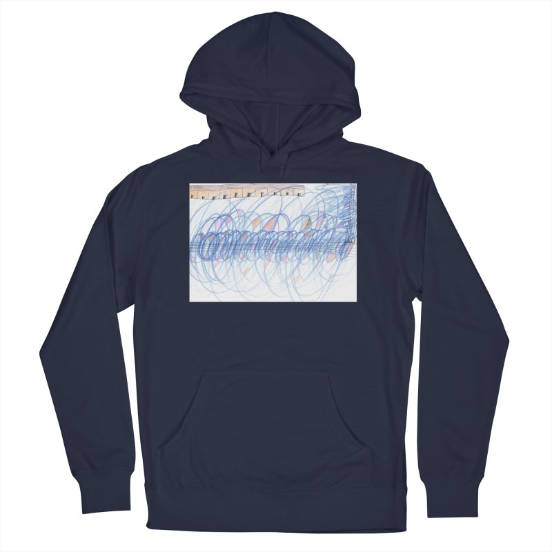 Electromagnetic Field Men's French Terry Pullover Hoody by nagybarnabas's Artist Shop