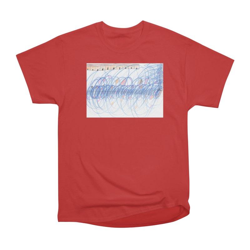 Electromagnetic Field Women's Heavyweight Unisex T-Shirt by nagybarnabas's Artist Shop