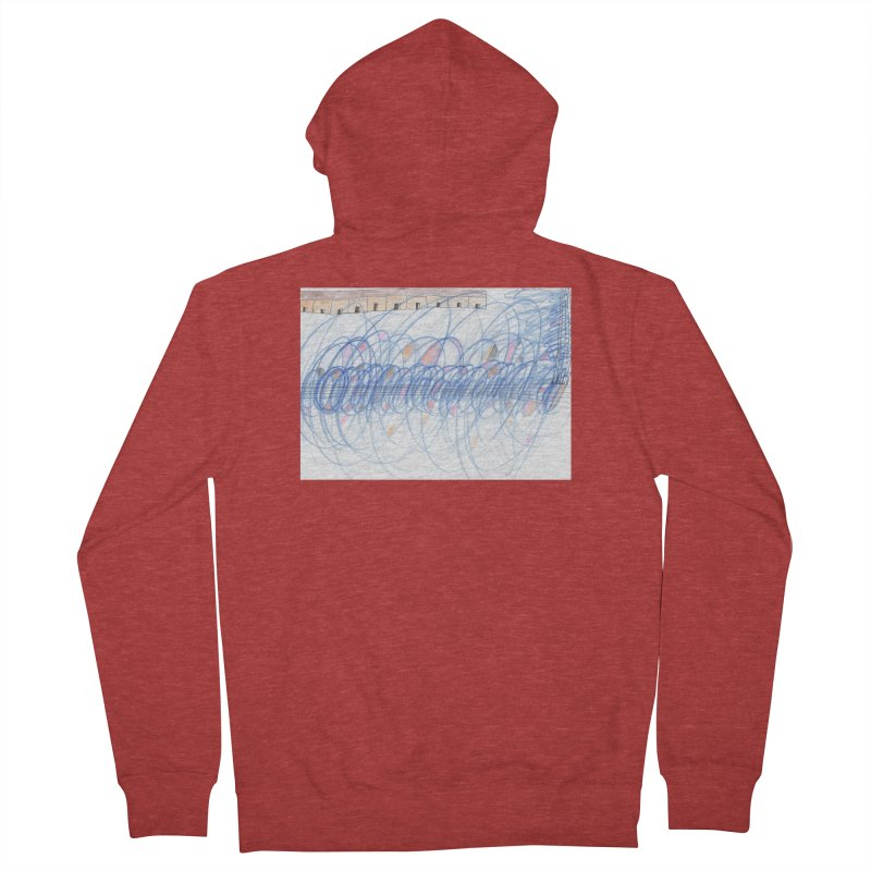 Electromagnetic Field Men's French Terry Zip-Up Hoody by nagybarnabas's Artist Shop