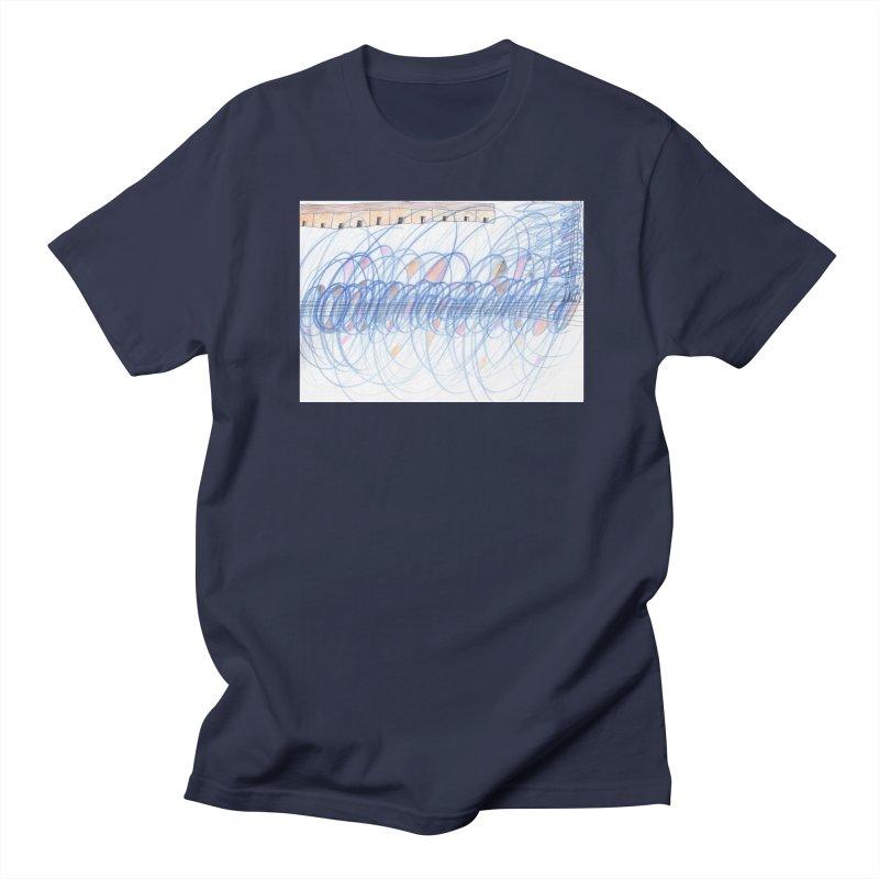 Electromagnetic Field Men's Regular T-Shirt by nagybarnabas's Artist Shop