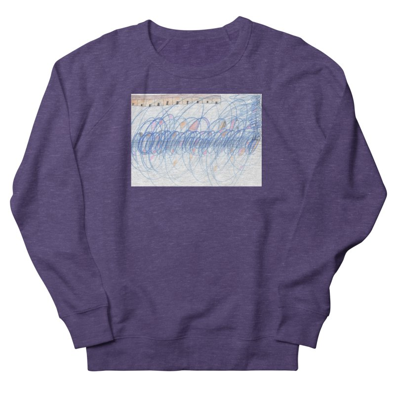 Electromagnetic Field Women's French Terry Sweatshirt by nagybarnabas's Artist Shop