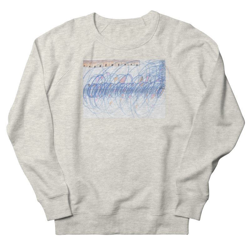 Electromagnetic Field Men's French Terry Sweatshirt by nagybarnabas's Artist Shop