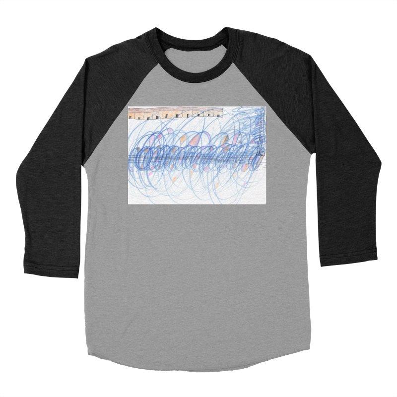 Electromagnetic Field Women's Baseball Triblend Longsleeve T-Shirt by nagybarnabas's Artist Shop