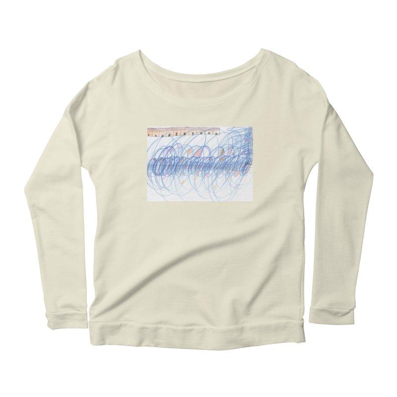 Electromagnetic Field Women's Scoop Neck Longsleeve T-Shirt by nagybarnabas's Artist Shop