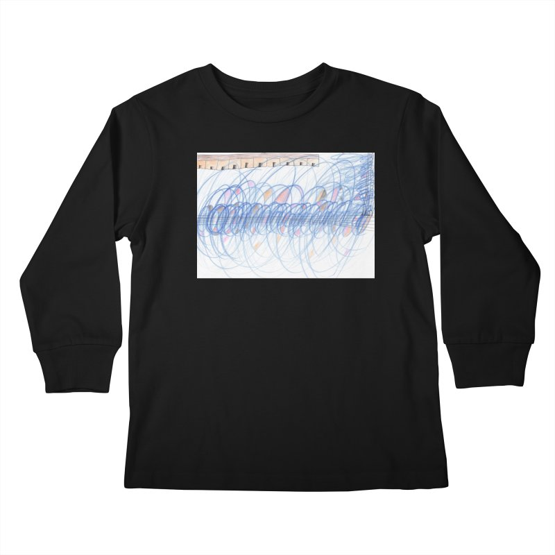 Electromagnetic Field Kids Longsleeve T-Shirt by nagybarnabas's Artist Shop