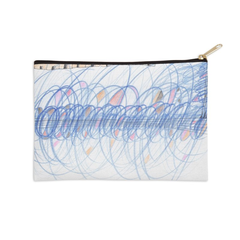 Electromagnetic Field Accessories Zip Pouch by nagybarnabas's Artist Shop