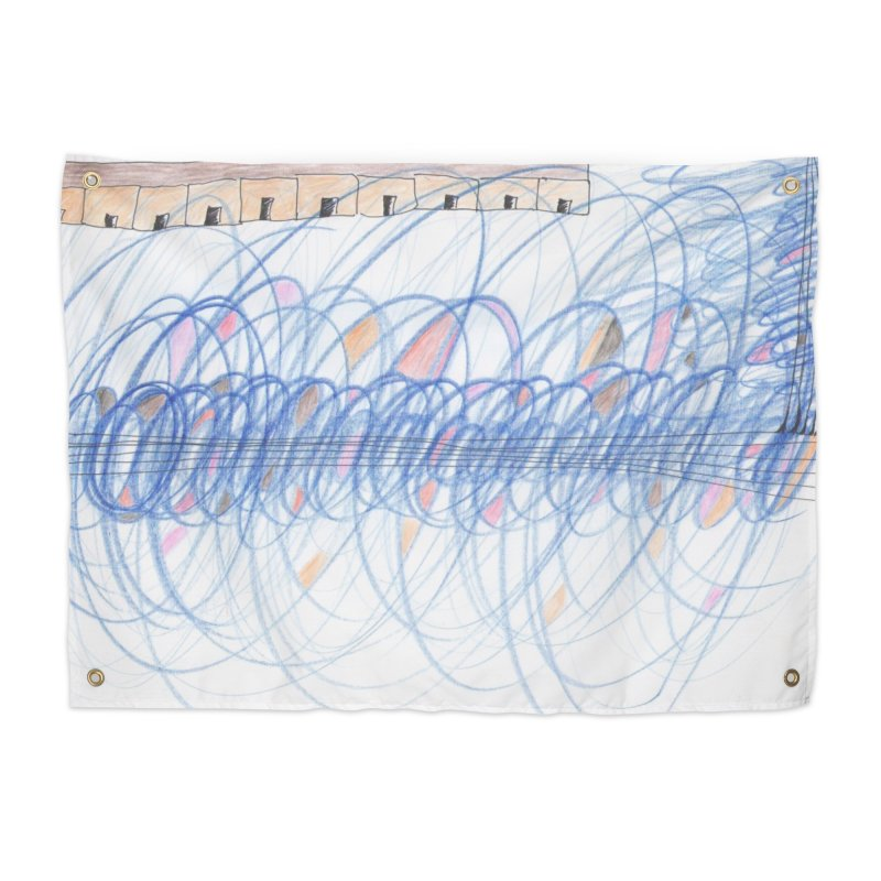 Electromagnetic Field Home Tapestry by nagybarnabas's Artist Shop
