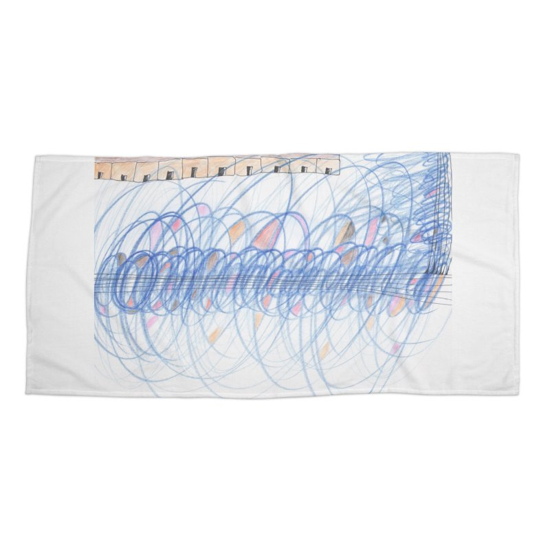 Electromagnetic Field Accessories Beach Towel by nagybarnabas's Artist Shop