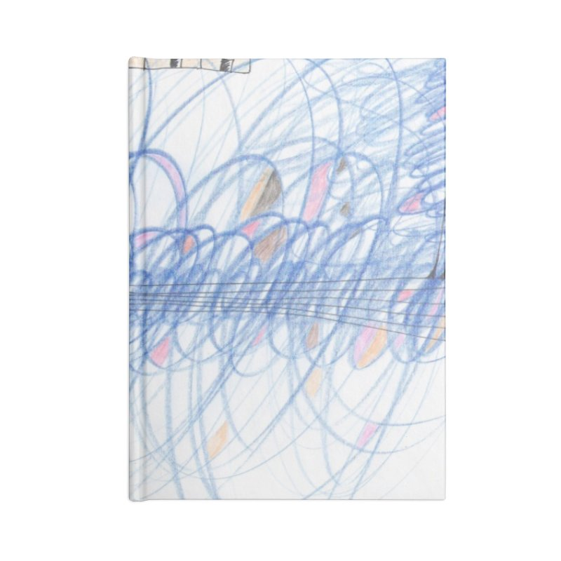 Electromagnetic Field Accessories Notebook by nagybarnabas's Artist Shop
