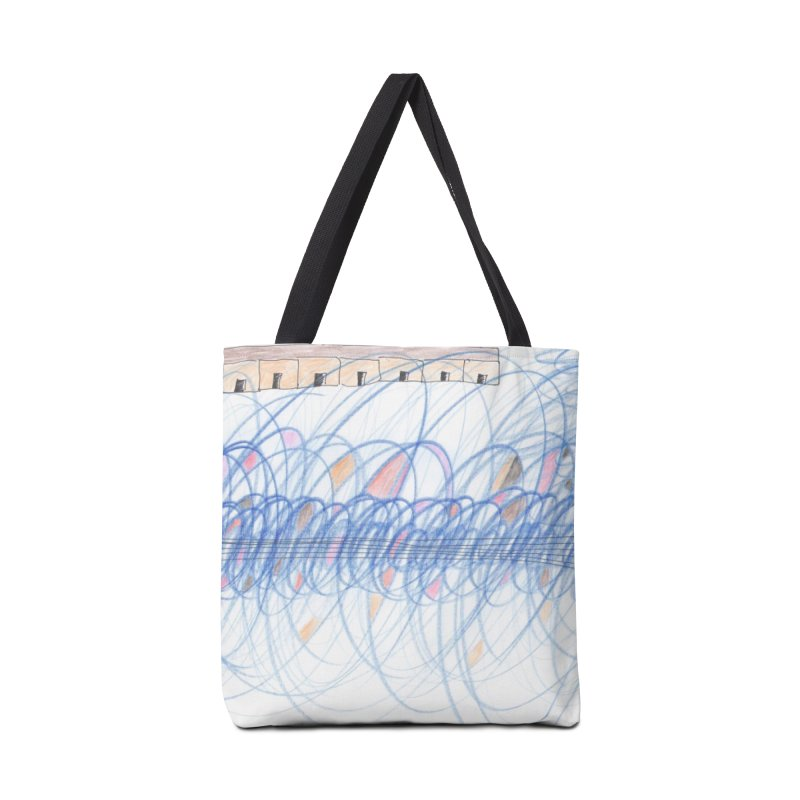 Electromagnetic Field Accessories Bag by nagybarnabas's Artist Shop
