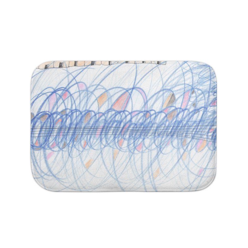 Electromagnetic Field Home Bath Mat by nagybarnabas's Artist Shop