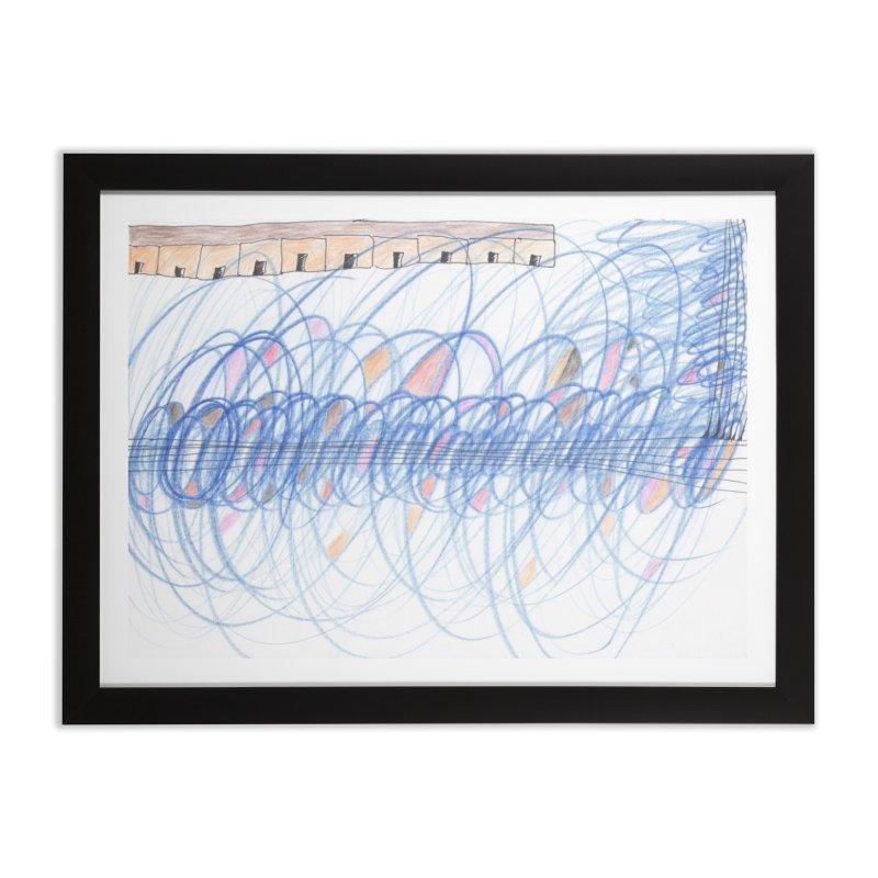 Electromagnetic Field Home Framed Fine Art Print by nagybarnabas's Artist Shop