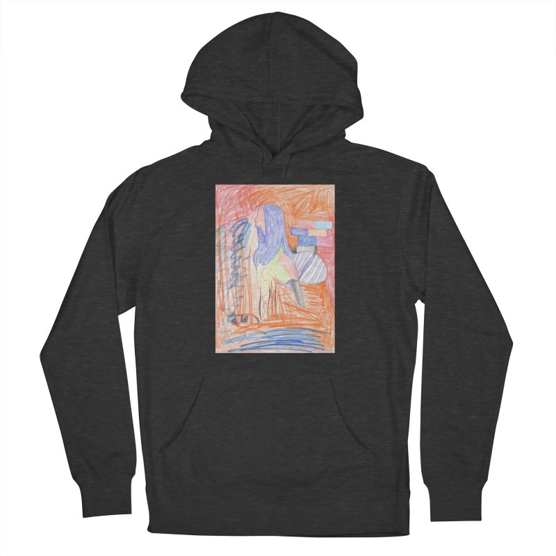 The Golden Hair Woman Women's French Terry Pullover Hoody by nagybarnabas's Artist Shop