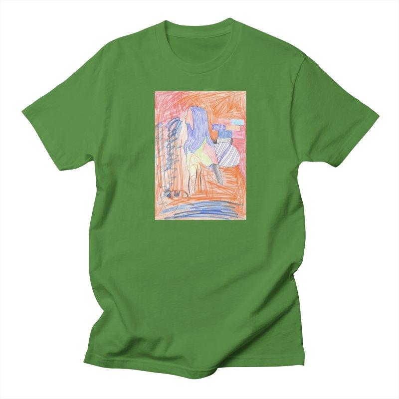 The Golden Hair Woman Women's Regular Unisex T-Shirt by nagybarnabas's Artist Shop