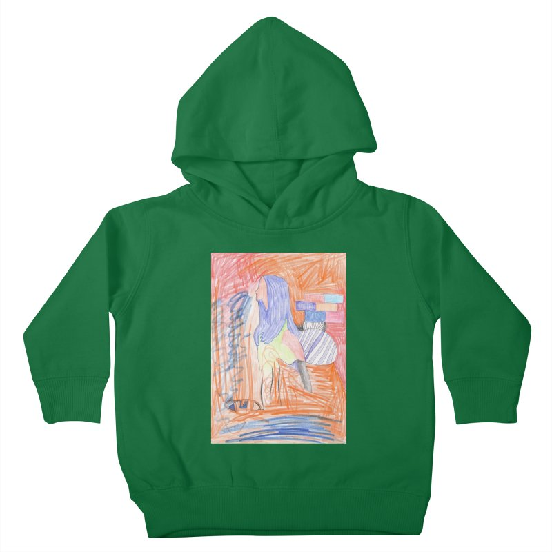 The Golden Hair Woman Kids Toddler Pullover Hoody by nagybarnabas's Artist Shop