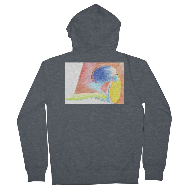 Wild Orgasm Men's French Terry Zip-Up Hoody by nagybarnabas's Artist Shop