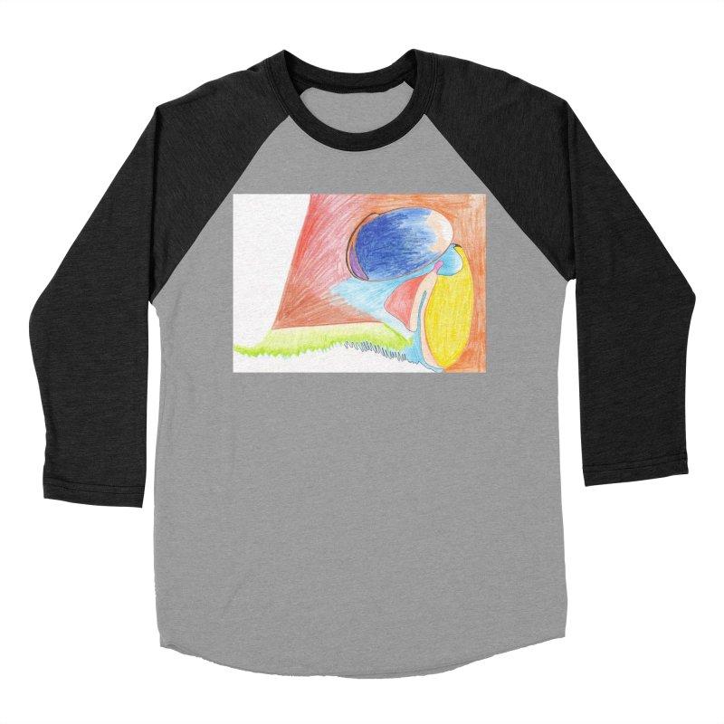 Wild Orgasm Women's Baseball Triblend Longsleeve T-Shirt by nagybarnabas's Artist Shop