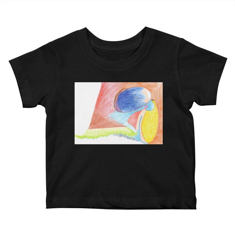 Wild Orgasm Kids Baby T-Shirt by nagybarnabas's Artist Shop