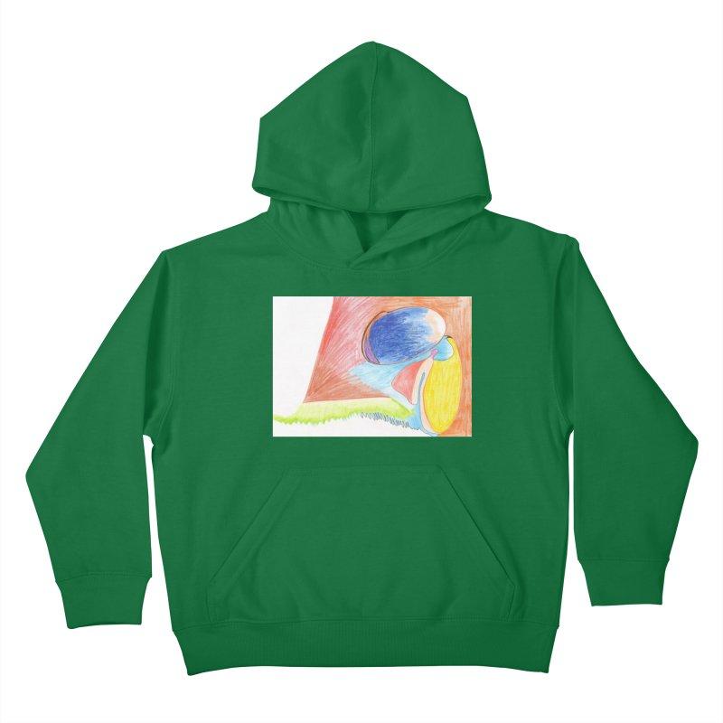 Wild Orgasm Kids Pullover Hoody by nagybarnabas's Artist Shop