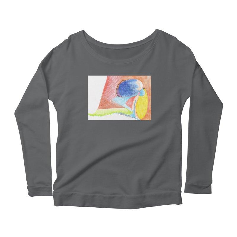 Wild Orgasm Women's Scoop Neck Longsleeve T-Shirt by nagybarnabas's Artist Shop