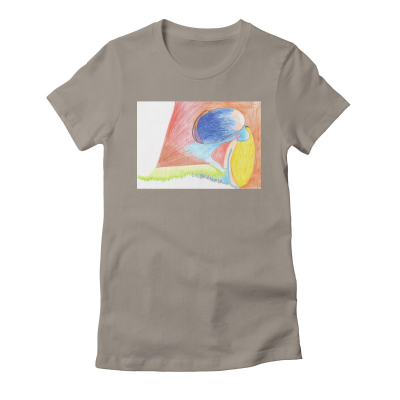 Wild Orgasm Women's Fitted T-Shirt by nagybarnabas's Artist Shop