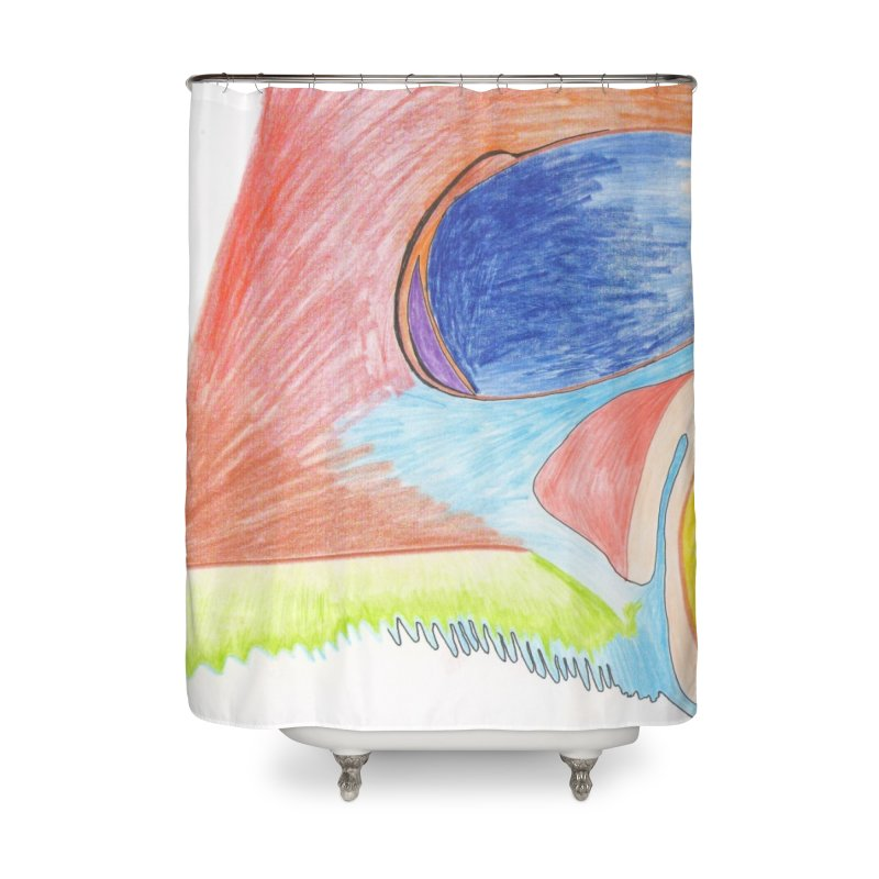 Wild Orgasm Home Shower Curtain by nagybarnabas's Artist Shop