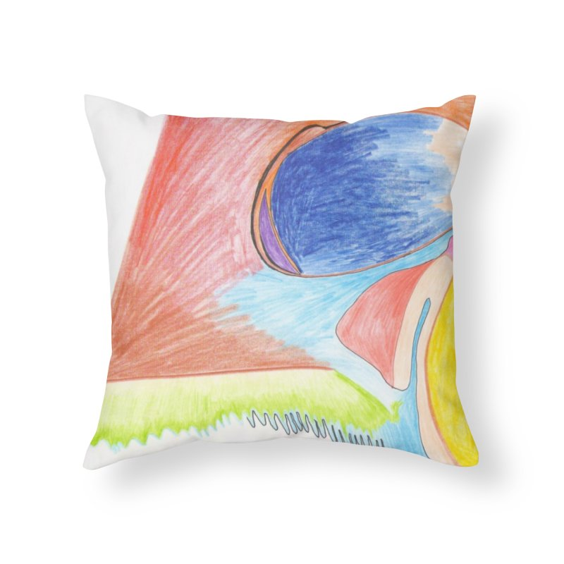 Wild Orgasm Home Throw Pillow by nagybarnabas's Artist Shop