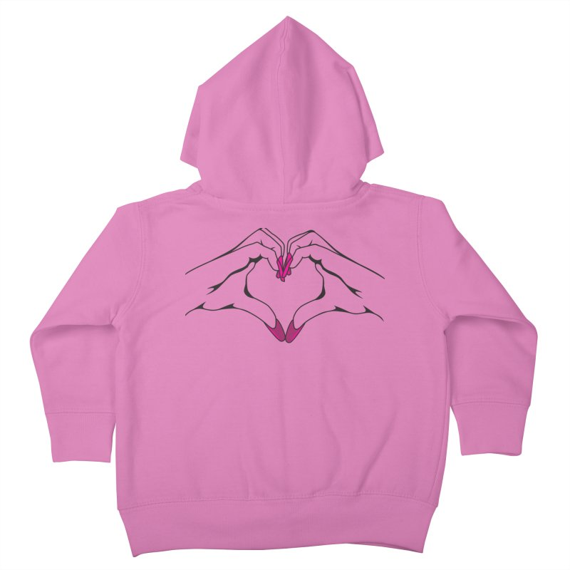 I ❤️ NAILS Kids Toddler Zip-Up Hoody by Nails & Threads