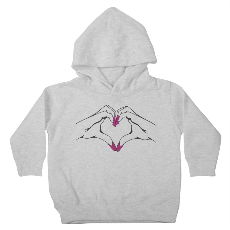 I ❤️ NAILS Kids Toddler Pullover Hoody by Nails & Threads