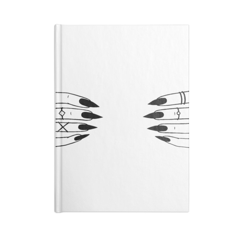 Wicked Accessories Lined Journal Notebook by Nails & Threads