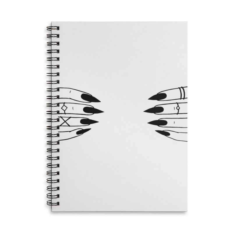 Wicked Accessories Lined Spiral Notebook by Nails & Threads