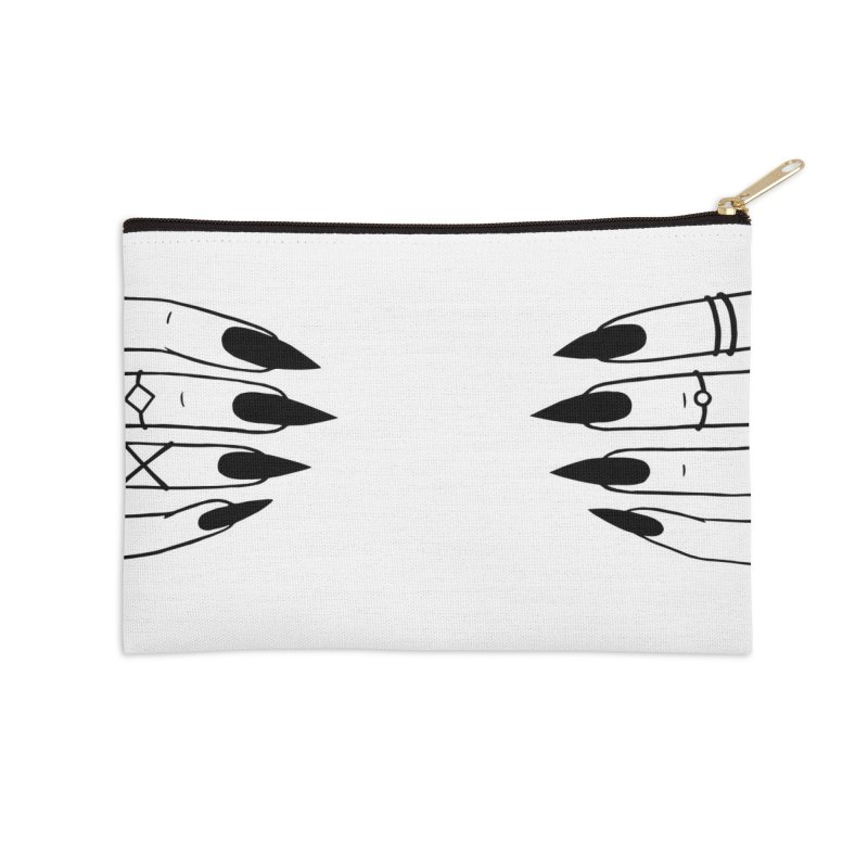 Wicked Accessories Zip Pouch by Nails & Threads