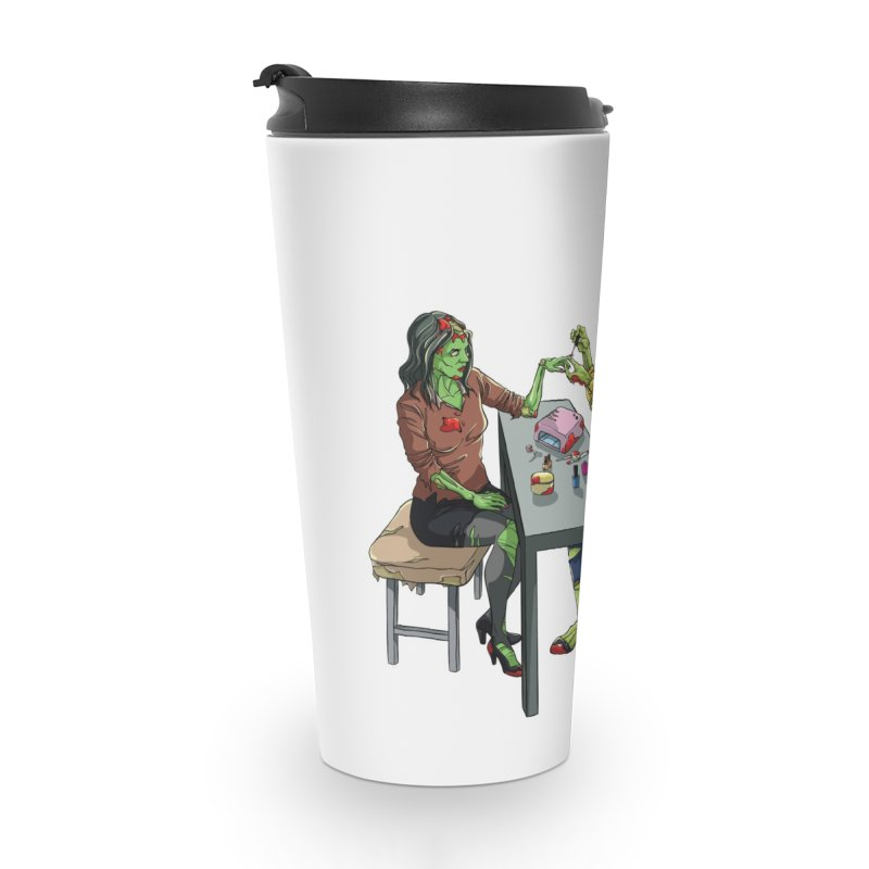 Zombie Salon Accessories Travel Mug by Nails & Threads
