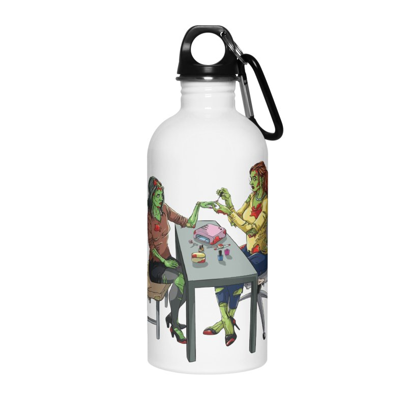 Zombie Salon Accessories Water Bottle by Nails & Threads