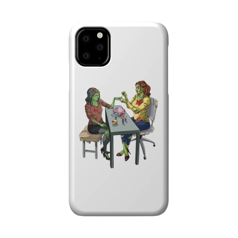 Zombie Salon Accessories Phone Case by Nails & Threads