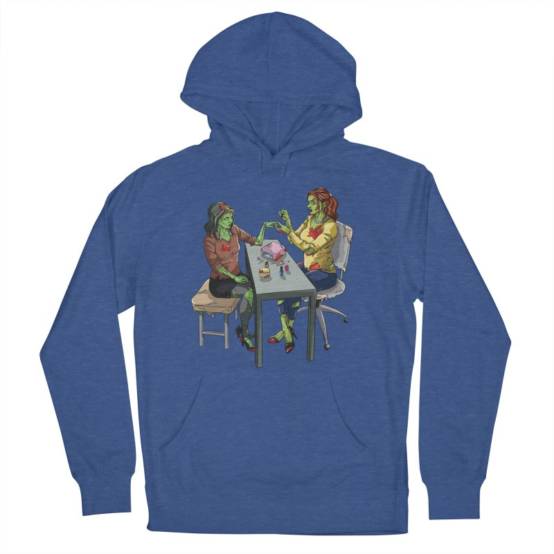 Zombie Salon Women's French Terry Pullover Hoody by Nails & Threads