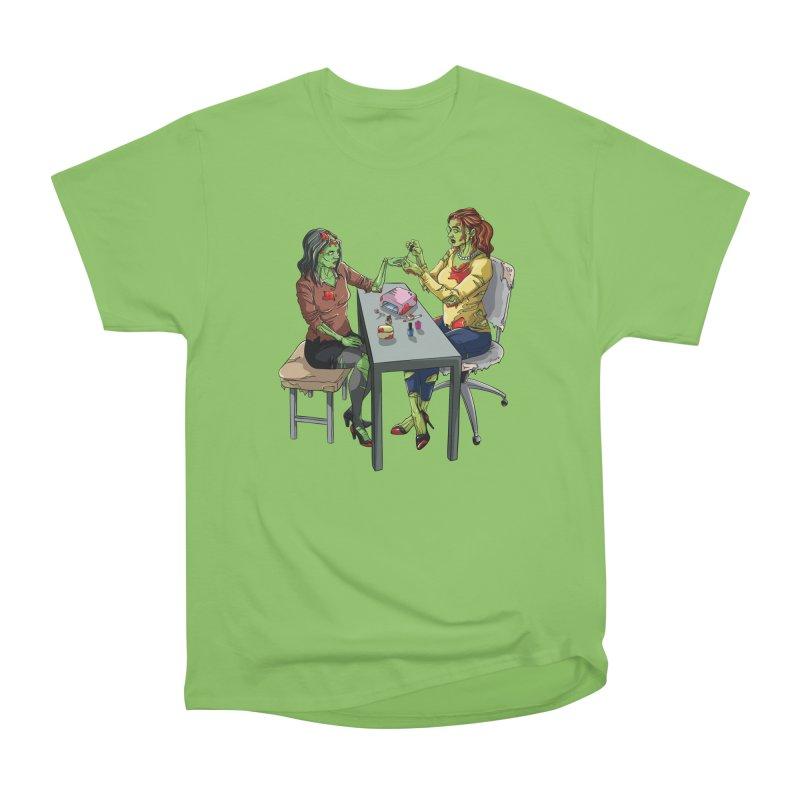 Zombie Salon Women's Heavyweight Unisex T-Shirt by Nails & Threads