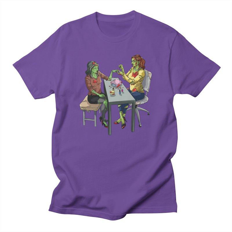 Zombie Salon Women's Regular Unisex T-Shirt by Nails & Threads
