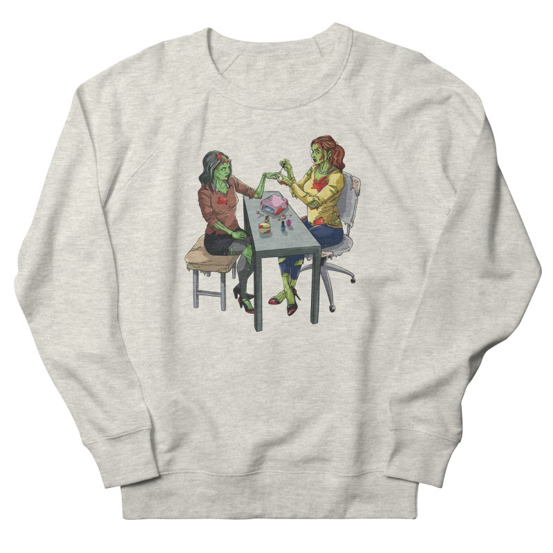 Zombie Salon Women's French Terry Sweatshirt by Nails & Threads