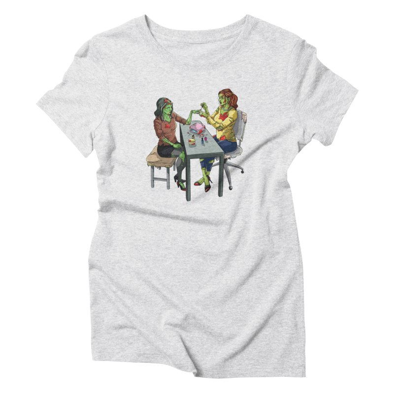 Zombie Salon Women's T-Shirt by Nails & Threads
