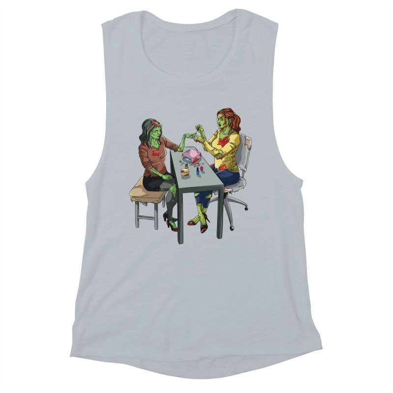 Zombie Salon Women's Muscle Tank by Nails & Threads