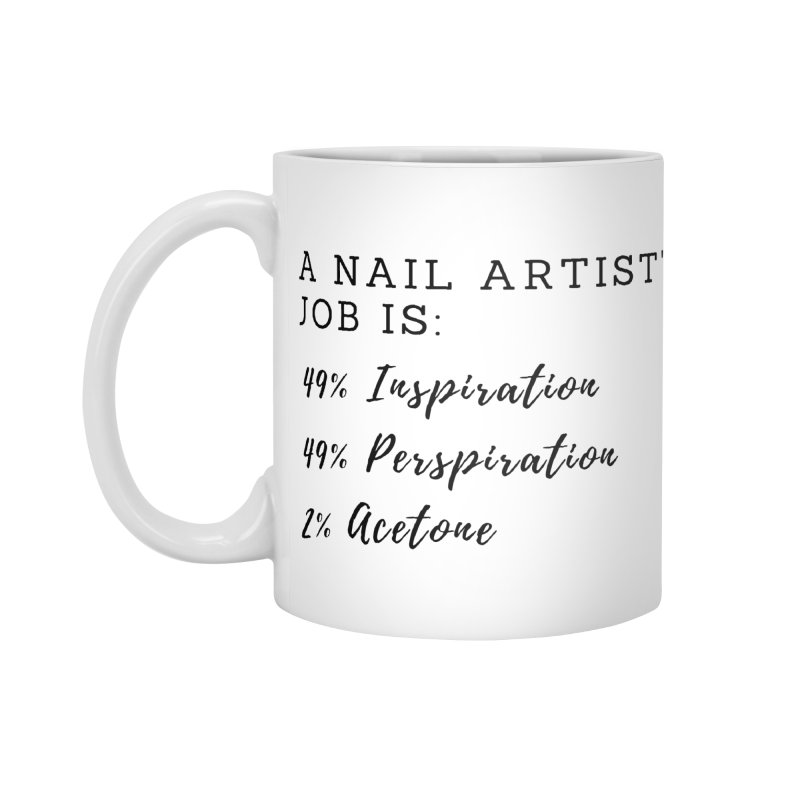Nail Tech Composition Accessories Standard Mug by Nails & Threads
