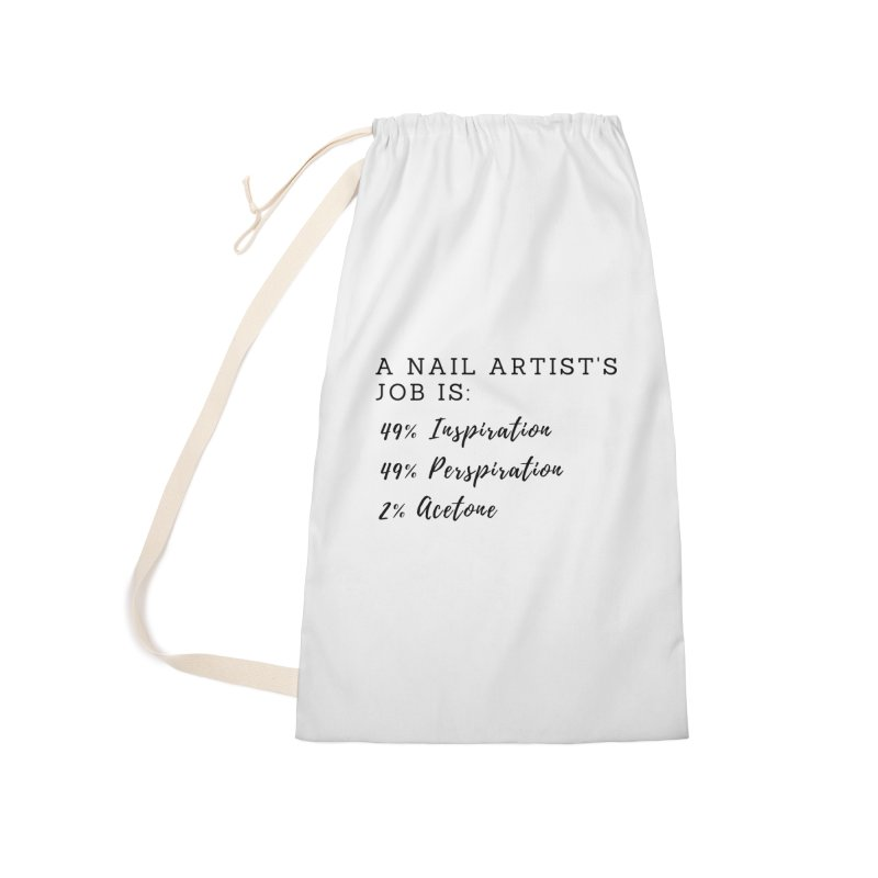 Nail Tech Composition Accessories Laundry Bag Bag by Nails & Threads