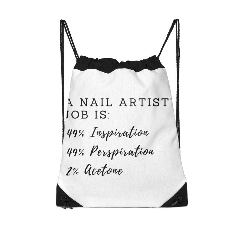 Nail Tech Composition Accessories Drawstring Bag Bag by Nails & Threads