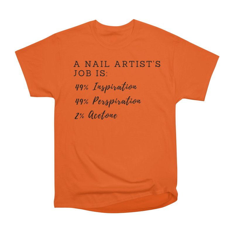 Nail Tech Composition Women's Heavyweight Unisex T-Shirt by Nails & Threads