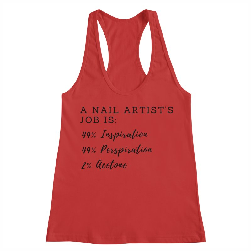 Nail Tech Composition Women's Racerback Tank by Nails & Threads