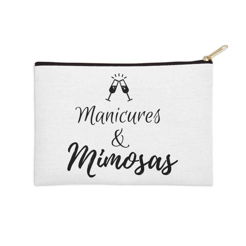 Manicures & Mimosas Accessories Zip Pouch by Nails & Threads