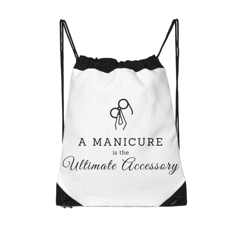 The Ultimate Accessory Accessories Drawstring Bag Bag by Nails & Threads