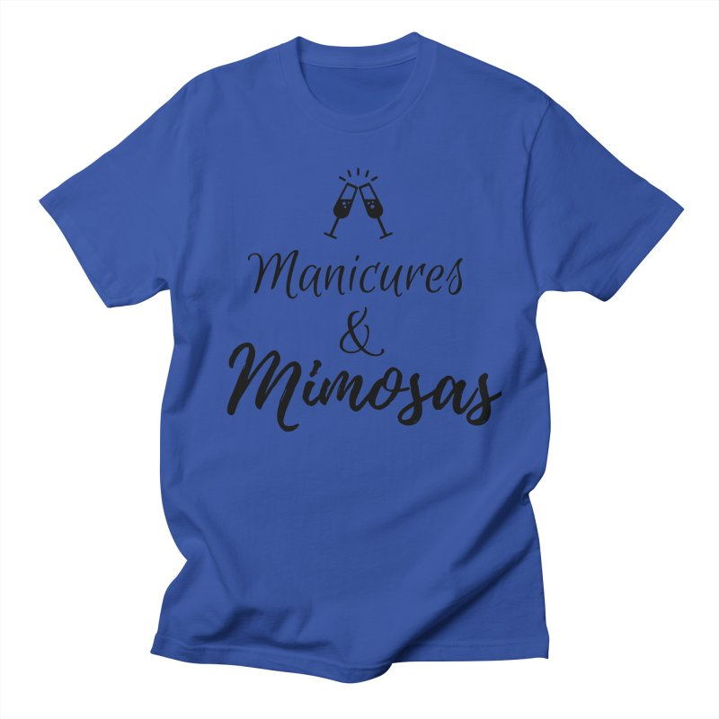 Manicures & Mimosas Women's T-Shirt by Nails & Threads